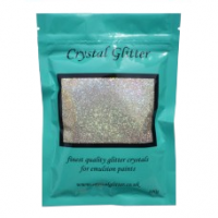 Crystal Glitter - Champagne Silver